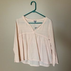 Aerie peach sleep shirt